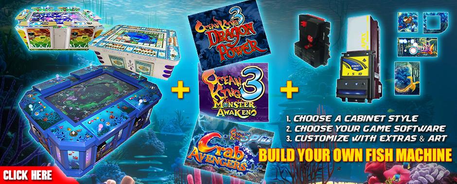 Ocean King Custom Machine Builder