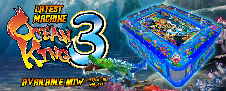 Ocean King 3 Now Available