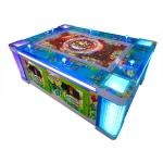 Ocean King 2: Ocean Monster 6 player Video Redemption Arcade Machine Cabinet, No Watermark