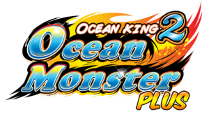 Ocean King 2, Ocean Monster Plus, Logo, Arcade Machine, Video Redemption