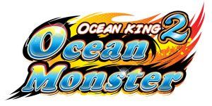 Ocean King 2: Ocean Monster Logo for Video Redemption Arcade Game