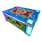 Ocean King 2: Ocean Monster 6 player Video Redemption Arcade Machine Cabinet, No Watermark