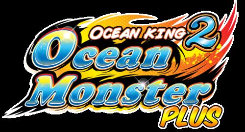 Ocean King 2, Ocean Monster Plus, Logo, Arcade Machine, Video Redemption